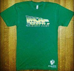 Green #Backtoseattle #tshirt  #Seattle #Supersonics  $19.99 Shockwavetees.com  #shockwavetees