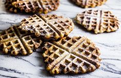 Yay! my favorite food blogger just posted a recipe for my favorite breakfast! Liège Waffles