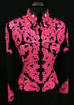 Pretty in Pink Jacket by Sweet Magnolia ~ Ladies Medium – Just Peachy