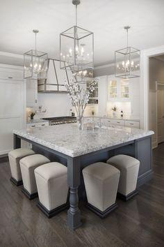 Exquisite kitchen - Kitchens by Design, Indianapolis. www.mykbdhome.com #granite #hardwoodfloors
