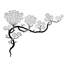 dessin fleur de cerisier - Recherche Google