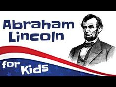 Learn about Abraham Lincoln in this biography video for kids! See how Abraham Lincoln shaped American history, keeping the United States together during the . Abraham Lincoln For Kids, Cub Scouts Bear, Biography Project, Teaching American History, Lessons For Kids, Teacher Resources, Teaching Ideas, Social Studies, Lesson Plans