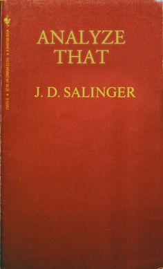 CATCHER IN THE RYE #betterbooktitles http://betterbooktitles.com