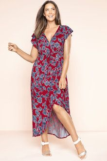 Plus Size - Sara Knit Maxi Dress