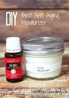 Best anti aging moisturizer you can make yourself for pennies.