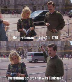 Ron Swanson History Lesson