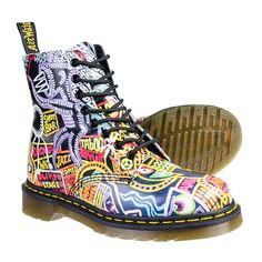 Dr Marten Pascal Kaboom Boots (Multi)