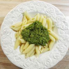 Bärlauch-Kohlrabiblatt-Pesto #vegan #bärlauch #pesto