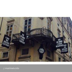 """""""#Torino raccontata dai cittadini per #inTO Foto di @martinalucido Ieri un uomo é stato decapitato"""""""