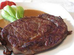 GRILLED RIB EYE STEAK *Grill http://bakeplans.com/grilled-rib-eye-steak-recipe/