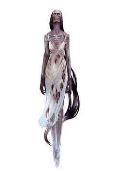 The Witcher artworks by Bartek Gawel, via Behance Fantasy Wizard, Fantasy Races, Fantasy Monster, Monster Art, H.p. Lovecraft, Witcher Monsters, Character Art, Character Design, Character Inspiration