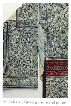 Detail of Long Horn Miao jacket