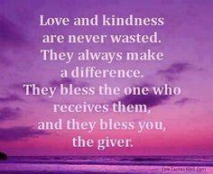 Always be kind ✿
