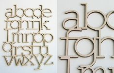 wall hanging alphabet