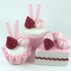 FELT CAKE SET
