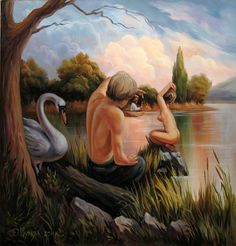 Painting by Oleh Shuplyak, Ukraine, from Iryna with love