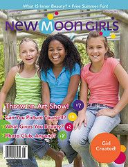 New Moon Girls is a wonderful gift for your daughter or a girl you care about! We love this!