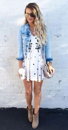 Pretty summer outfit ideas to copy right now 33