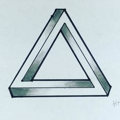 Si miráis bien la foto veréis que es IMPOSIBLE. He hecho el triángulo el cuadrado y el corazón #optical