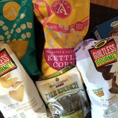 10 Ways to Start Eating Clean - love all the Angie's popcorn!