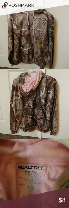 Camo and pink sweatshirt Camo and pink sweatshirt Realtree Sweaters
