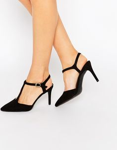 Image 1 ofNew Look Cut Out Pointed Heel