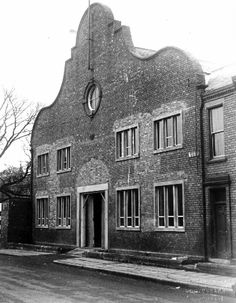Drill Hall Larchfield Street. Poole's Myriorama put on a performance here in 1895