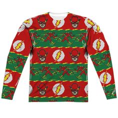 2c706ca0a90 Ugly Flash Christmas Sweater