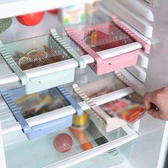 Raft suplimentar pentru frigider, din plastic, pentru depozitare alimente diverse