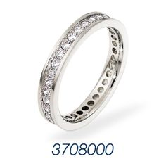 This beautiful Dora Anniversary ring captivates your senses with it's relishing details!