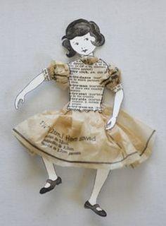 ℘ Paper Dress Prettiness ℘ paper doll