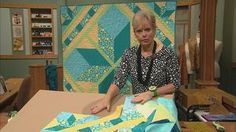 Sew Speedy Lone Star Quilts Video from Sewing with Nancy. The Lone Star Quilt pattern is noted for its beauty, striking design, and hmmm, difficulty to stitch. Nancy has totally redesigned the cutting and piecing process of this traditional design and made it speedy to sew. Plus, you learn creative design options.