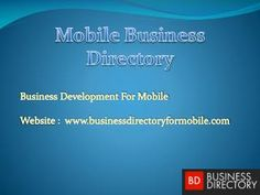 #Mobile_Business_Directory expert in mobile advertising, small business marketing and local listing  http://bit.ly/1zH3RXZ