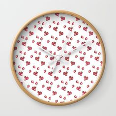 Strawberry, strawberries, pattern, fruit...