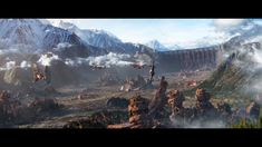 Mortal Engines, Fortification, Latest Movies, Trailers, Concept Art, Steampunk, Geek Stuff, Movies, Conceptual Art