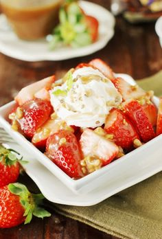 Strawberries with To