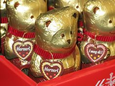 Cute Teddy shaped chocolates for the kids!
