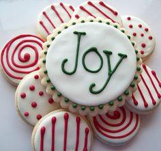 Simple Christmas cookies!