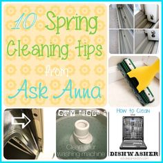 10 easy Spring Cleaning tasks -- Ask Anna