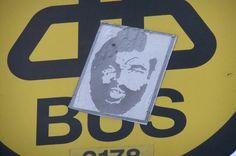 MR T Sticker, Dublin.