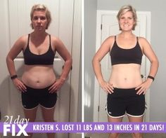 """You can do anything you set your mind to! In 21 days Kristin completely changed her eating habits, created a healthier lifestyle for herself and lost 11 lbs and 13 inches. """"This program isn't like other diets. It's a way of life!"""" - Kristin S. Best Weight Loss, Weight Loss Tips, Lose Weight, Best Cardio Workout, Transformation Tuesday, 21 Day Fix, 21 Days, Way Of Life"""
