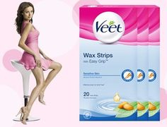 2000 Only: Free Veet Easy Grip Cold Wax Strips Sample