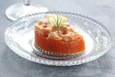 Un dejeuner de soleil: Terrine aux deux saumons et yaourt, du Ritz