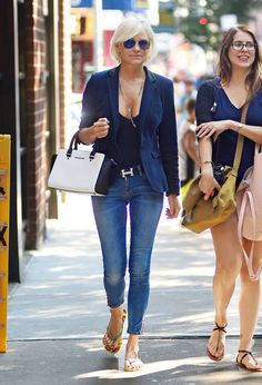 I LOVE everything about Yolanda Foster's style...and I will own a Hermes belt one day