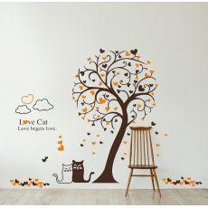 Kočka a strom