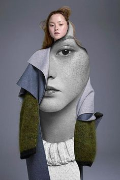 The Fashion Atlas interviewed Pablo Thecuadro, Spanish artist who creates abstract collages characterized by the duality of human being