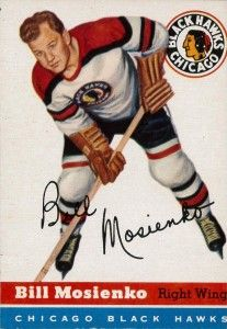 Complete look at HHOF member Bill Mosienko and his NHL career with the Chicago Blackhawks. Includes career highlights, stats and hockey card collection. Boston Bruins Hockey, Blackhawks Hockey, Chicago Blackhawks, Nhl, Black Hawk, Hockey Games, Nfl Fans, Sports Figures, National Hockey League