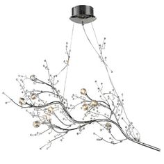 The Viviana collection is a modern interpretation of nature with branches of polished chrome and clear glass  buds  at their tips.  Each fixture is lit by...
