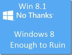 MS Windows - Horrible