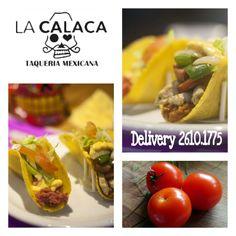 Hoje é #Quintafeira! vehna a disfrutar nossos #Tacos, #sopravocê no #LaCalacaTaqueria!!! #TBT #ComidaTexMex #MogidasCruzes o no conforto de sua casa, #Delivery aos domingos, terça a quinta das 18:00 às 23:00 , sex e sab até as 00:00. DISK La Calaca 26101775